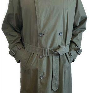 90s London Fog Full-Length Lined Trench Coat